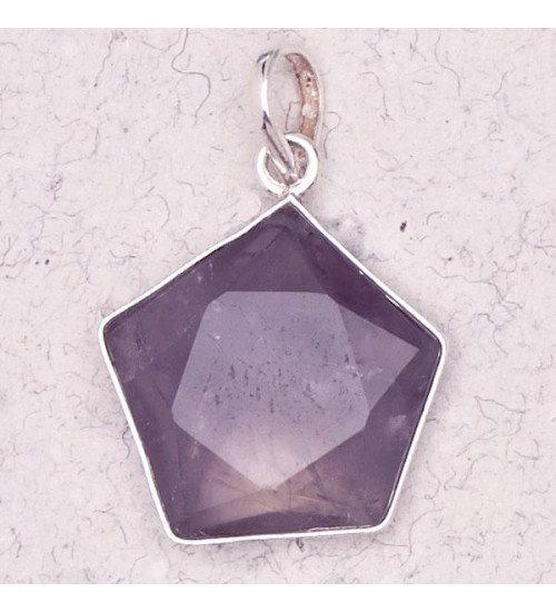 Amethyst 5 Point Prisma Star Pendant at All Wicca Store Magickal Supplies, Wiccan Supplies, Wicca Books, Pagan Jewelry, Altar Statues