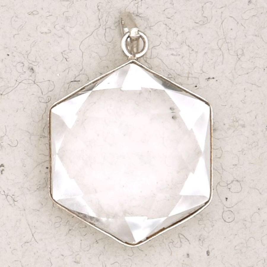 Clear quartz 6 point prisma star pendant clear quartz 6 point prisma star pendant crystal aloadofball Choice Image