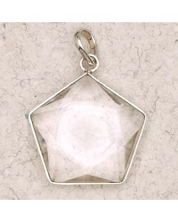 Clear Quartz 5 Point Prisma Star Pendant All Wicca Store Magickal Supplies Wiccan Supplies, Wicca Books, Pagan Jewelry, Altar Statues