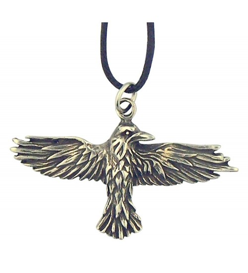 Celtic Raven Pewter Necklace at All Wicca Store Magickal Supplies, Wiccan Supplies, Wicca Books, Pagan Jewelry, Altar Statues