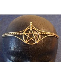 Pentagram Bronze Wiccan Circlet All Wicca Store Magickal Supplies Wiccan Supplies, Wicca Books, Pagan Jewelry, Altar Statues