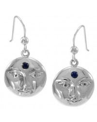 Blue Moon Laurie Cabot Sterling Earrings All Wicca Store Magickal Supplies Wiccan Supplies, Wicca Books, Pagan Jewelry, Altar Statues