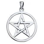Pentagram Sterling Silver Pendant