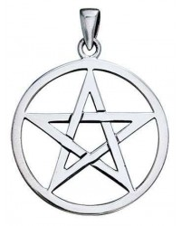 Pentagram Sterling Silver Pendant All Wicca Store Magickal Supplies Wiccan Supplies, Wicca Books, Pagan Jewelry, Altar Statues