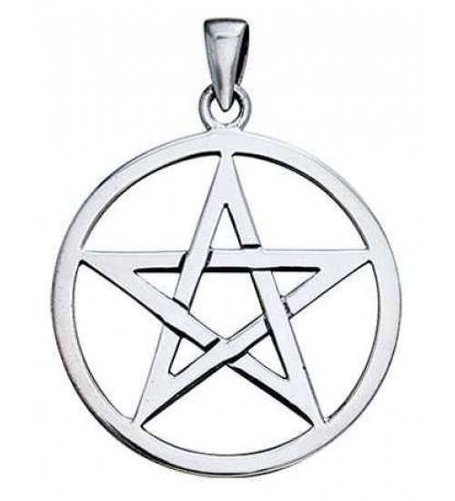 Pentagram Sterling Silver Pendant at All Wicca Magical Supplies, Wiccan Supplies, Wicca Books, Pagan Jewelry, Altar Statues