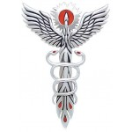 Fire Dance Phoenix Pendant by Oberon Zell