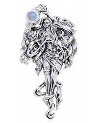 Moon Goddess Sterling Pendant All Wicca Store Magickal Supplies Wiccan Supplies, Wicca Books, Pagan Jewelry, Altar Statues