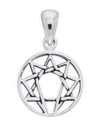 Enneagram Pendant in Sterling Silver All Wicca Magickal Supplies Wiccan Supplies, Wicca Books, Pagan Jewelry, Altar Statues