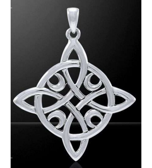 Quaternary Celtic Cross Silver Pendant at All Wicca Store Magickal Supplies, Wiccan Supplies, Wicca Books, Pagan Jewelry, Altar Statues