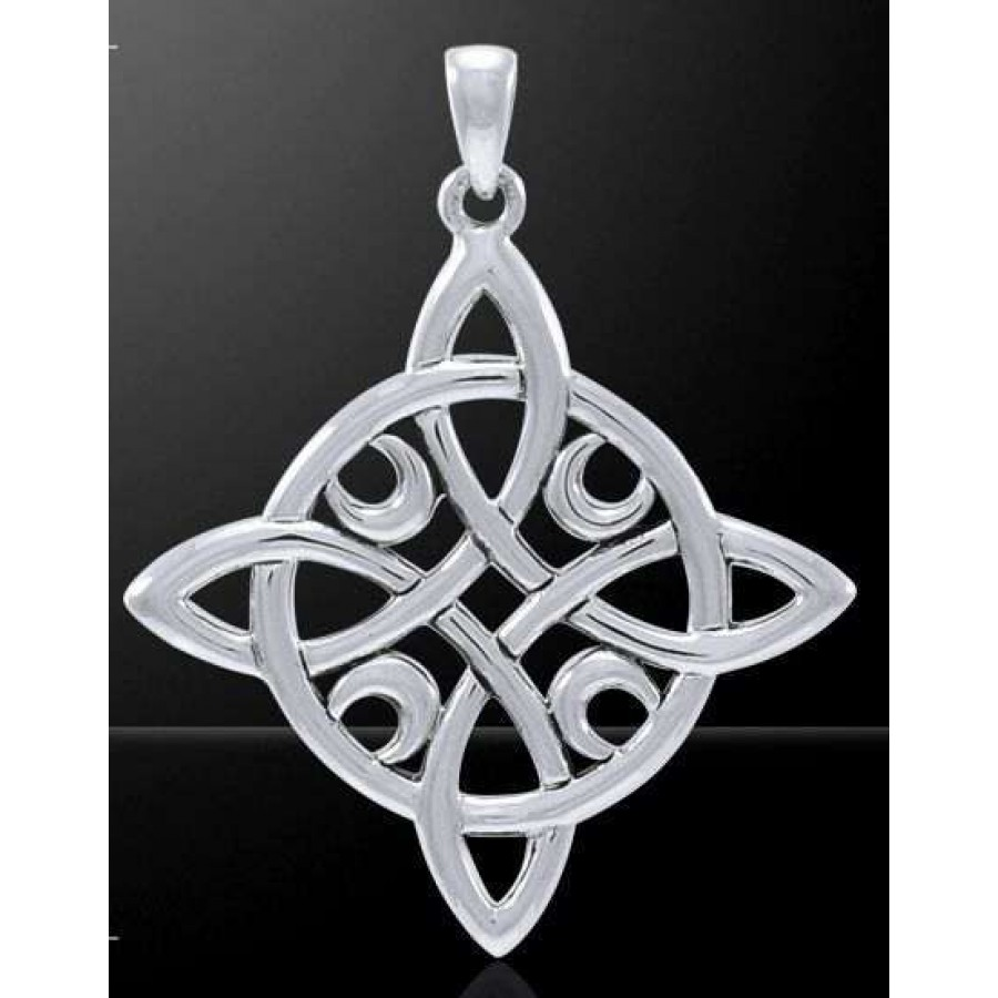 goddess pendant triple jewelry hekate key wheel of pagan hecate greek