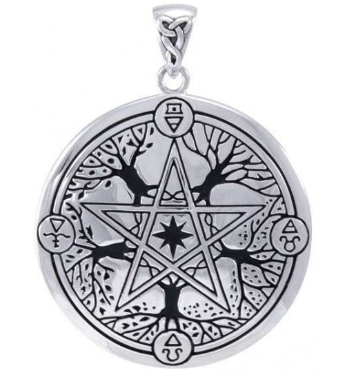 Elemental Seasons Witches Pentacle Pendant at All Wicca Store Magickal Supplies, Wiccan Supplies, Wicca Books, Pagan Jewelry, Altar Statues