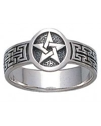 Pentacle Sterling Silver Ring All Wicca Store Magickal Supplies Wiccan Supplies, Wicca Books, Pagan Jewelry, Altar Statues