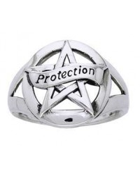 Protection Pentacle Sterling Silver Ring All Wicca Store Magickal Supplies Wiccan Supplies, Wicca Books, Pagan Jewelry, Altar Statues
