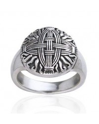 Celtic Cross of St Brigid Silver Ring All Wicca Store Magickal Supplies Wiccan Supplies, Wicca Books, Pagan Jewelry, Altar Statues