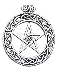 Openwork Pentacle Pendant in Sterling Silver All Wicca Magickal Supplies Wiccan Supplies, Wicca Books, Pagan Jewelry, Altar Statues