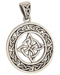 Celtic Quaternary Knot Sterling Silver Pendant All Wicca Store Magickal Supplies Wiccan Supplies, Wicca Books, Pagan Jewelry, Altar Statues