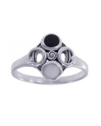 Moon Magick Sterling Silver Ring All Wicca Store Magickal Supplies Wiccan Supplies, Wicca Books, Pagan Jewelry, Altar Statues