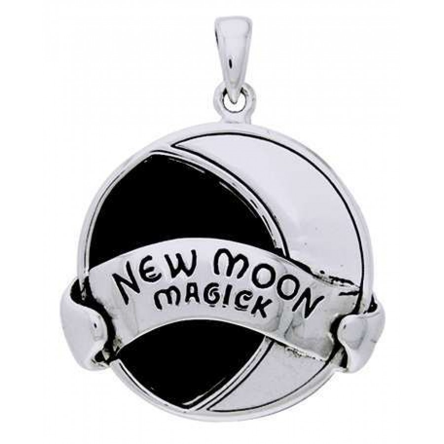 New Moon Magick Sterling Silver Pendant