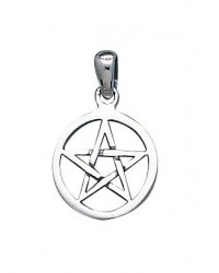 Pentacle Mini Sterling Silver Pendant All Wicca Magickal Supplies Wiccan Supplies, Wicca Books, Pagan Jewelry, Altar Statues