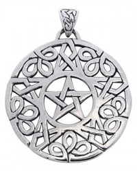 Knotwork Pentacle Pendant All Wicca Store Magickal Supplies Wiccan Supplies, Wicca Books, Pagan Jewelry, Altar Statues