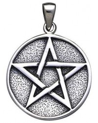 Pentacle Solid Silver Pentagram Pendant All Wicca Store Magickal Supplies Wiccan Supplies, Wicca Books, Pagan Jewelry, Altar Statues