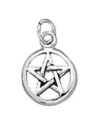 Pentacle Sterling Silver Charm All Wicca Magickal Supplies Wiccan Supplies, Wicca Books, Pagan Jewelry, Altar Statues