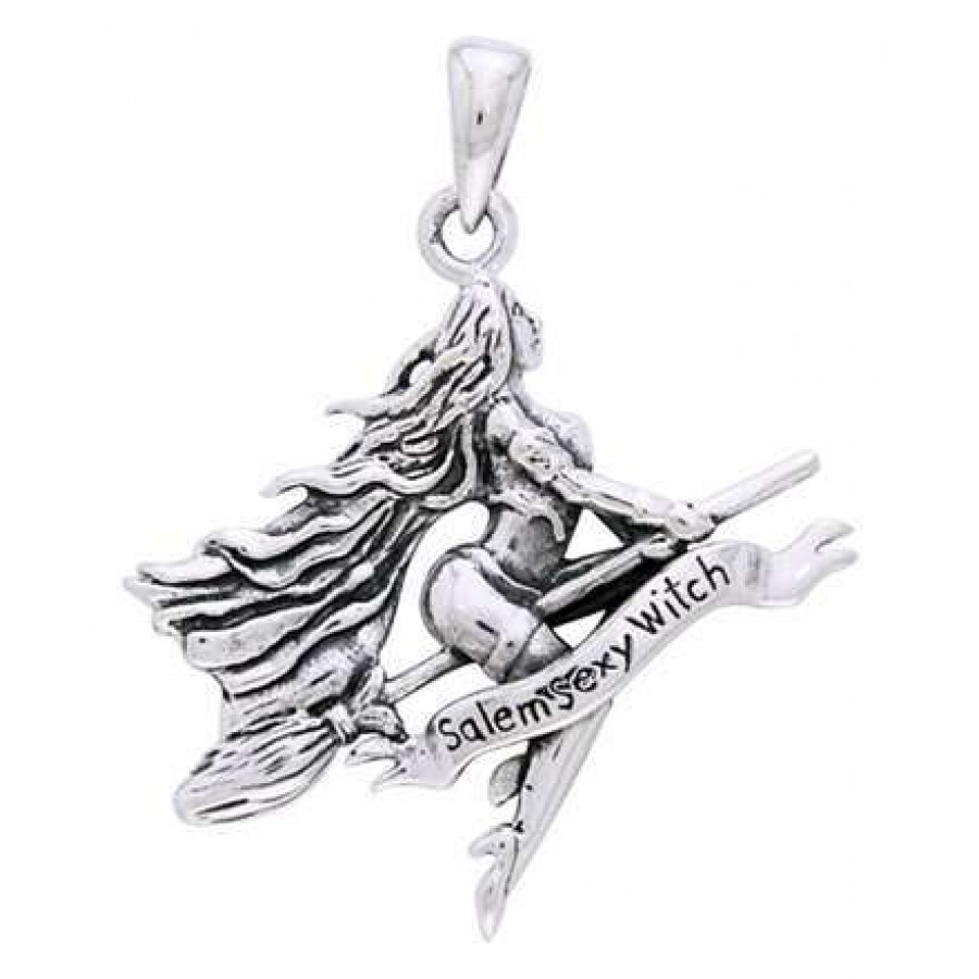 Sexy witch pentagram sterling silver pendant wicca witch pagan sexy witch pentagram sterling silver pendant at all wicca supply shop wiccan supplies all aloadofball Gallery