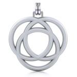 Avalon Triad Silver Unity Pendant
