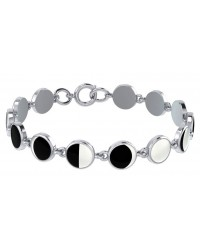 Magick Moon Phases Inlayed Bracelet