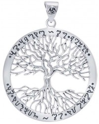 Wiccan Tree of Life Rune Pendant All Wicca Store Magickal Supplies Wiccan Supplies, Wicca Books, Pagan Jewelry, Altar Statues