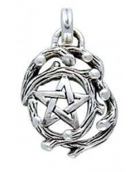 Tree Pentacle Pendant in Sterling Silver All Wicca Store Magickal Supplies Wiccan Supplies, Wicca Books, Pagan Jewelry, Altar Statues