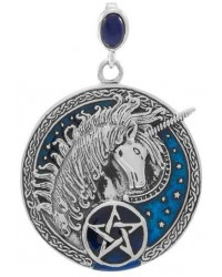 Celtic Unicorn Pentacle Laurie Cabot Pendant All Wicca Store Magickal Supplies Wiccan Supplies, Wicca Books, Pagan Jewelry, Altar Statues