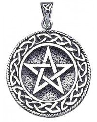 Pentagram Pentacle Pendant in Bronze or Sterling All Wicca Magickal Supplies Wiccan Supplies, Wicca Books, Pagan Jewelry, Altar Statues