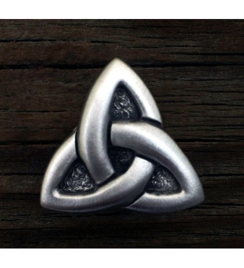 Celtic Triquetra Pewter Concho at All Wicca Store Magickal Supplies, Wiccan Supplies, Wicca Books, Pagan Jewelry, Altar Statues