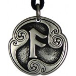 Ansur - Rune of Communication Talisman Pendant