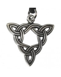 Brigid Knot Celtic Goddess Pewter Necklace All Wicca Store Magickal Supplies Wiccan Supplies, Wicca Books, Pagan Jewelry, Altar Statues