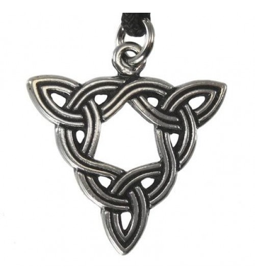 Brigid Knot Celtic Goddess Pewter Necklace at All Wicca Store Magickal Supplies, Wiccan Supplies, Wicca Books, Pagan Jewelry, Altar Statues
