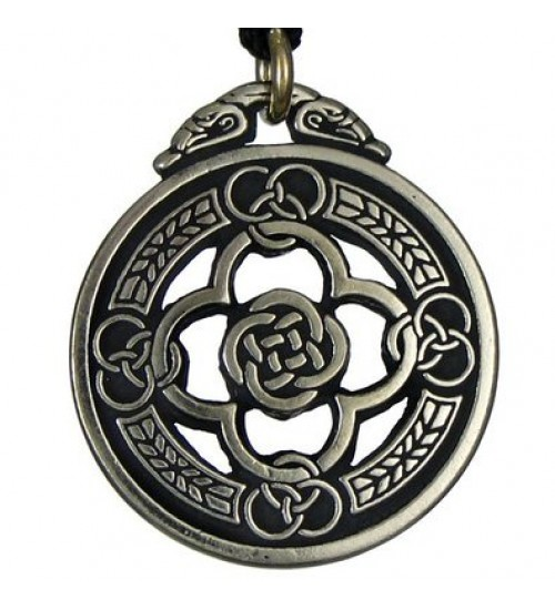 Celtic Knot Warrior Shield Protection Necklace at All Wicca Store Magickal Supplies, Wiccan Supplies, Wicca Books, Pagan Jewelry, Altar Statues