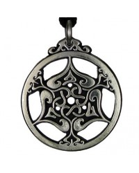Heart Triskele Celtic Knot Pewter Necklace All Wicca Store Magickal Supplies Wiccan Supplies, Wicca Books, Pagan Jewelry, Altar Statues