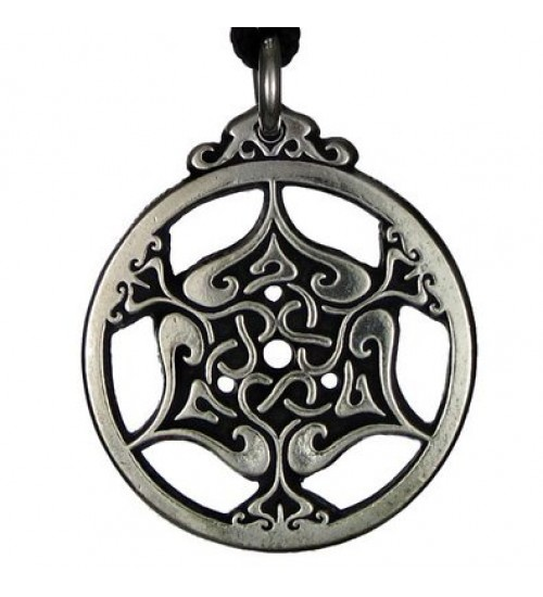 Heart Triskele Celtic Knot Pewter Necklace at All Wicca Store Magickal Supplies, Wiccan Supplies, Wicca Books, Pagan Jewelry, Altar Statues