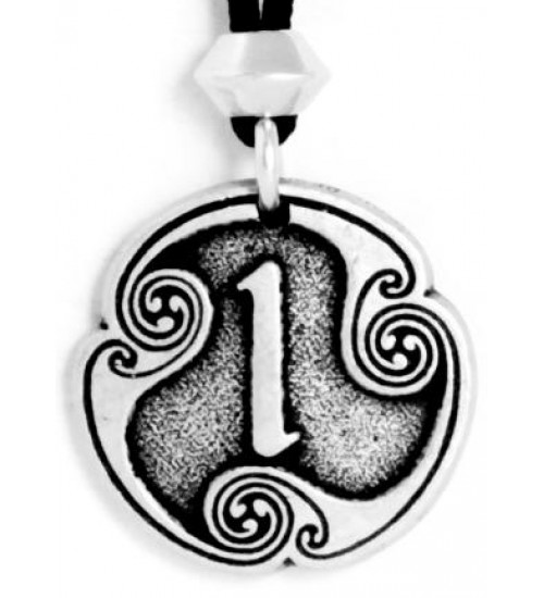 Isa - Rune of Duration Pewter Talisman at All Wicca Store Magickal Supplies, Wiccan Supplies, Wicca Books, Pagan Jewelry, Altar Statues
