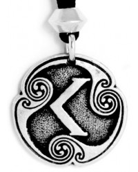 Ken - Rune of Passion Pewter Talisman All Wicca Store Magickal Supplies Wiccan Supplies, Wicca Books, Pagan Jewelry, Altar Statues