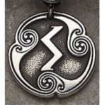 Sigel - Rune of the Sun Pewter Talisman