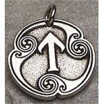 Tir - Rune of Victory Pewter Talisman
