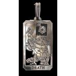 Death Small Tarot Pendant