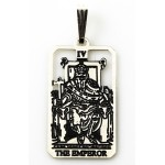 The Emperor Small Tarot Pendant
