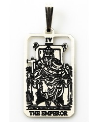 The Emperor Small Tarot Pendant All Wicca Store Magickal Supplies Wiccan Supplies, Wicca Books, Pagan Jewelry, Altar Statues