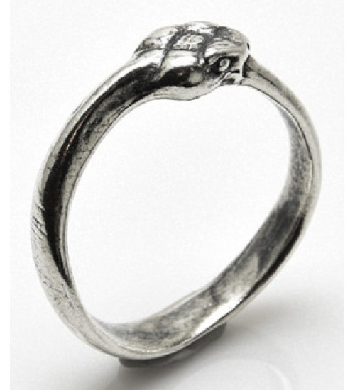 Ouroboros Snake Sterling Silver Ring at All Wicca Store Magickal Supplies, Wiccan Supplies, Wicca Books, Pagan Jewelry, Altar Statues