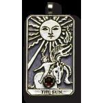 The Sun Large Gemstone Tarot Pendant