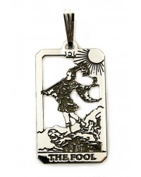 The Fool Small Tarot Pendant All Wicca Store Magickal Supplies Wiccan Supplies, Wicca Books, Pagan Jewelry, Altar Statues